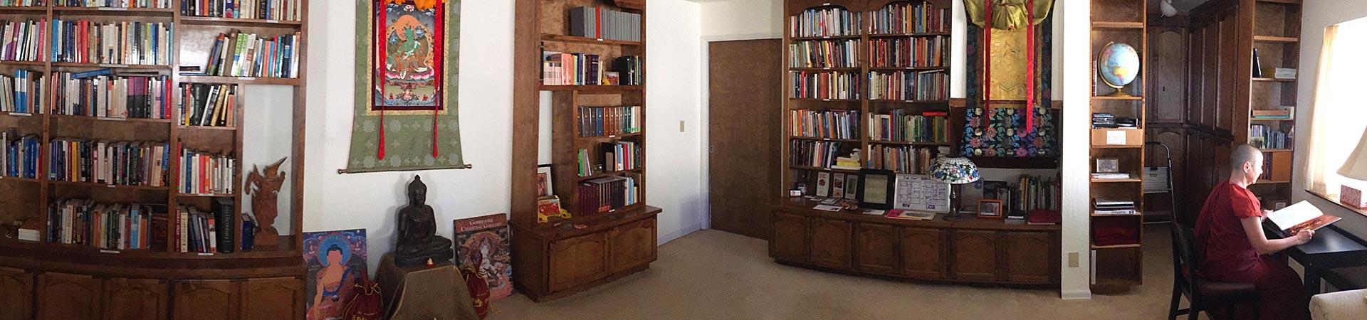 aloka-vihara-library