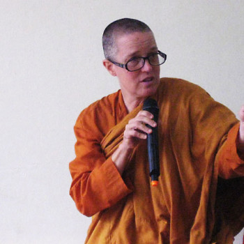 Ven Bhikkhuni Dr Lee, co-founder of the award.