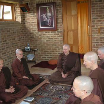 Recitation in Nuns' Vestry, Amaravati
