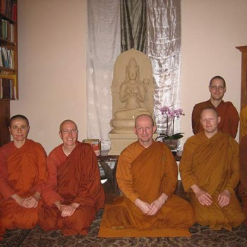 Visit from Ajahn Amaro and Abhayagiri Sangha