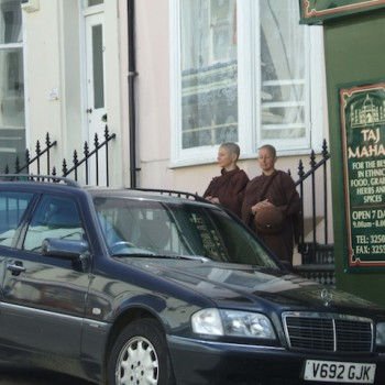 On Almsround in Brighton, 2008