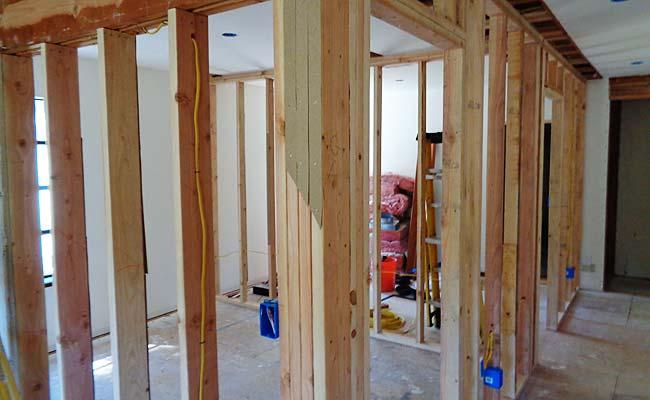 Construction at Aloka Vihara takes the building up to code