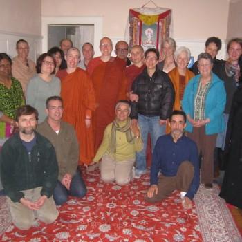 Our last evening at Aloka Vihara in San Francisco