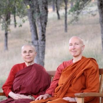 Ayya Santacitta and Ayya Anandabodhi