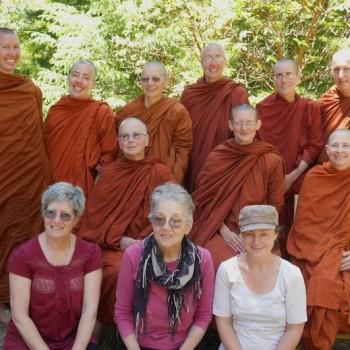 Bhikkhuni Camp in Aranya Bodhi