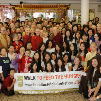 Buddhist Global Relief Walk, SF