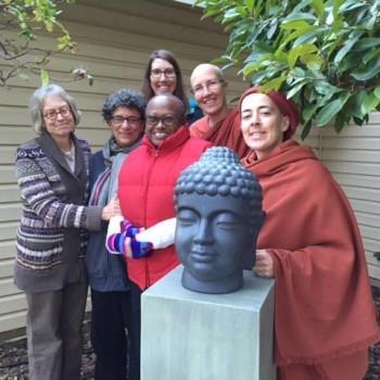 Gay and Shahara offer us this Buddha image