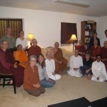Ajahn Brahm visits Aloka Vihara