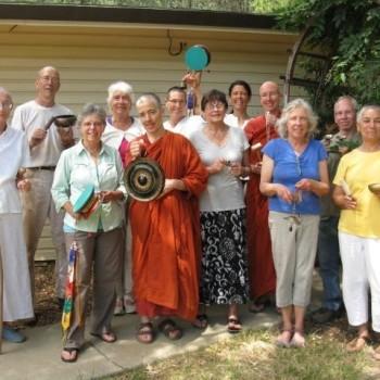 Papal Encyclical Celebration at the vihara