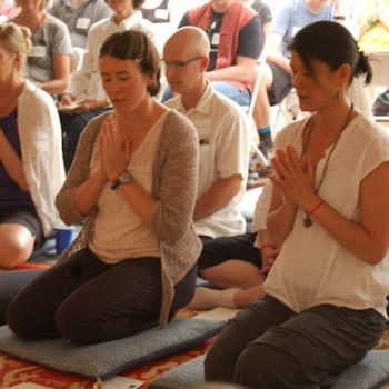Almsgiving Ceremony at Aloka Vihara