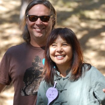 Isabelita Papa, our Qi Gong master, with her partner Tom
