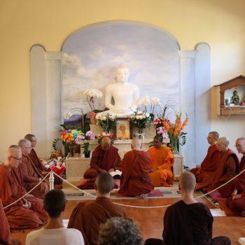 Ayya Ahimsa's Bhikkhuni Ordination at Buddhi Vihara