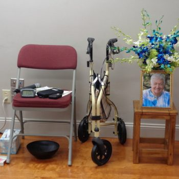 April 23 Memorial at Mindfulness Care Center for dear Muriel