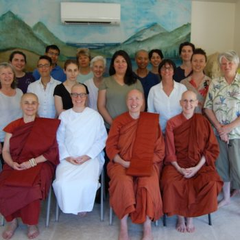 Anagarika Shannon's Eight Precept Ceremony on July 9