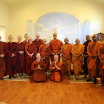 Ordination at Buddhi Vihara