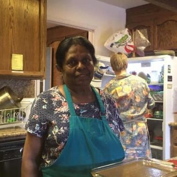 Khanti, our fabulous Kathina cook
