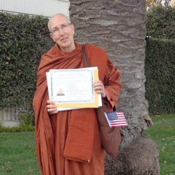 Ayya Anandabodhi's US Citizenship Ceremony