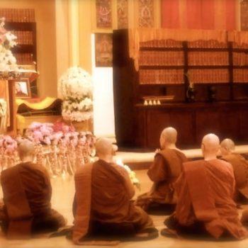 Bhikkhuni Patimokkha Chanting at Mangalam Center, Berkeley
