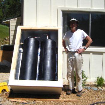 Robert & the passive solar batch water heater