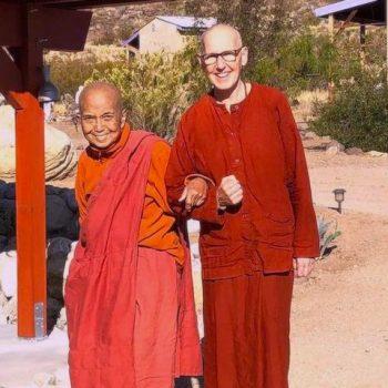 Ayya Gunasari & Ayya Ahimsa at Mahapajapati Monastery